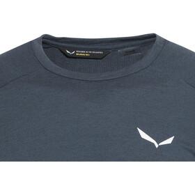 SALEWA Fanes Dri-Rel Camiseta de manga larga Hombre, dark denim
